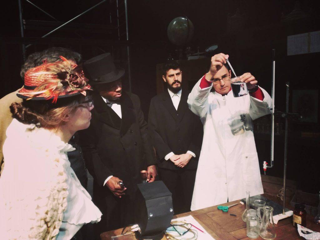 Collaboration d'un enseignant-chercheur de l'ENSCMu avec la troupe de théâtre Cafarnaüm Photo Cafarnaüm