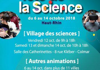 FÊTE DE LA SCIENCE DU 12 AU 14.10 AVEC L'ENSCMu