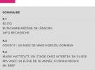 LETTRE D'INFORMATION DE L'ENSCMu : NUMÉRO SPÉCIAL COVID-19