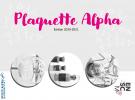 ELLES SONT DISPONIBLES : PLAQUETTE INGÉNIEUR ET PLAQUETTE ALPHA 2020-21