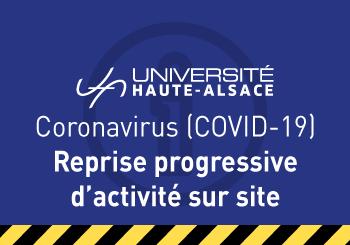 COVID-19 reprise progressive des activités sur site UHA
