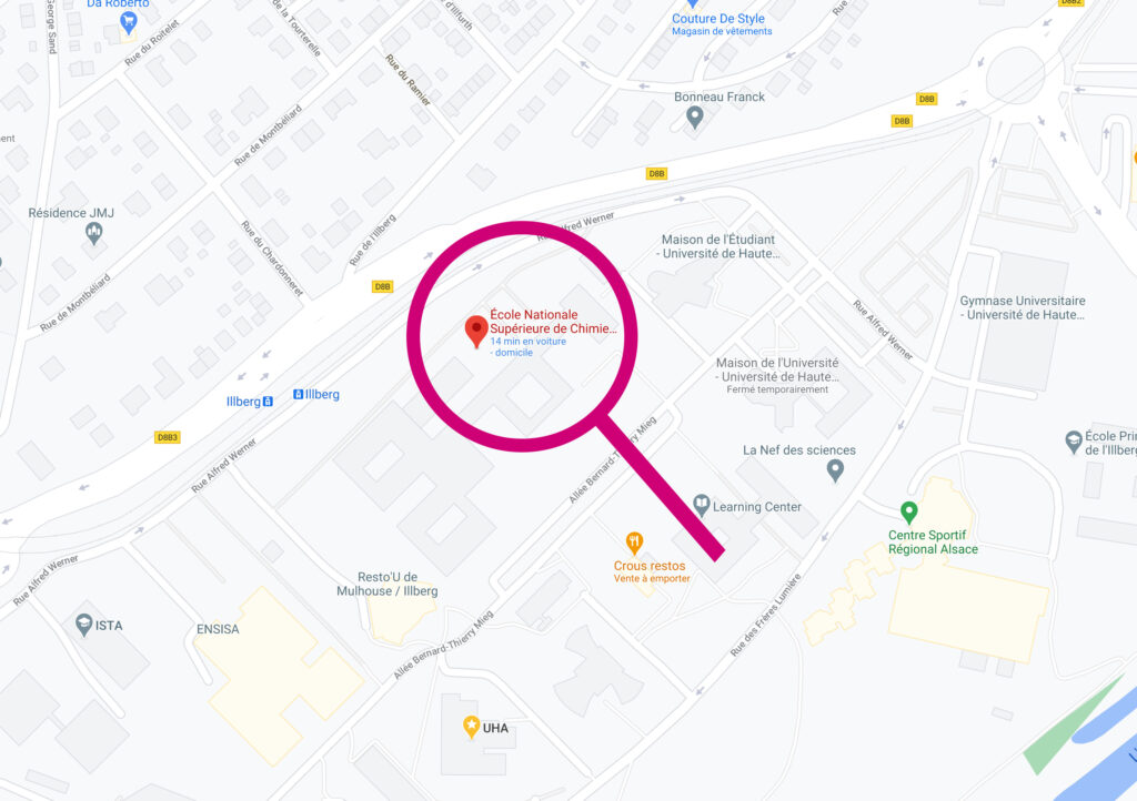 ENSCMu - Google Maps