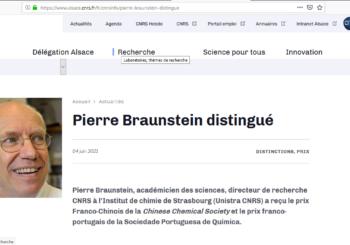 PIERRE BRAUNSTEIN, DIPLÔME DE L'ENSCMu, DOUBLEMENT PRIME